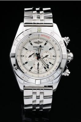 5dc0f584166 Breitling-Chronomat-White-Stainless-Steel-Men-Watch-BC2271- Replicas de  relogios ...