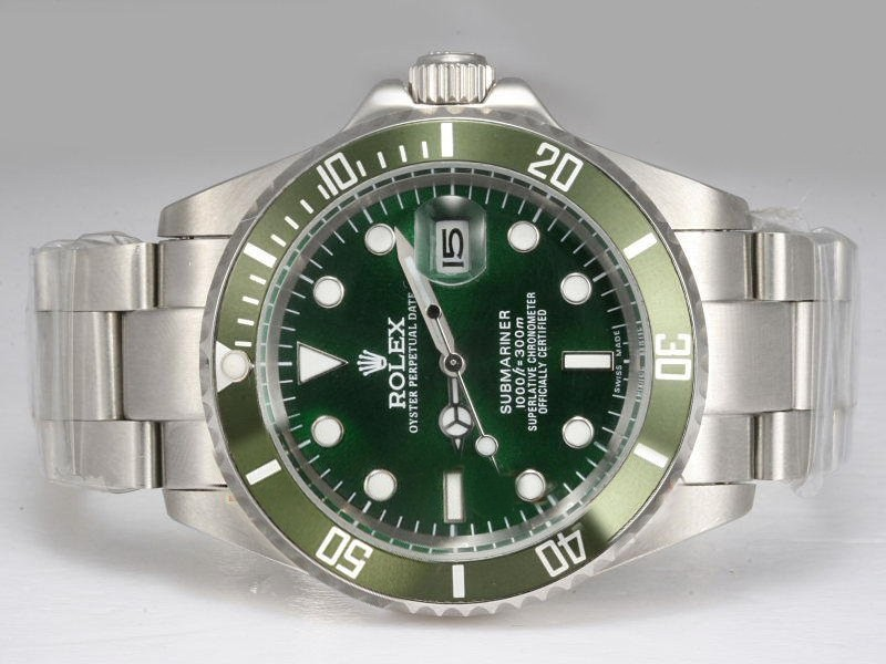 e8266f43e9a Rolex-Submariner-Green-Bezel-And-Dial-Watch-96 ...